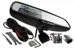 iBEAM TE-360M45 360 Degree Dashcam/Mirror/Monitor
