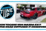 Jon Togans Gave His 1994 Mazda RX-7 The Custom Rear Diffuser It Deserves