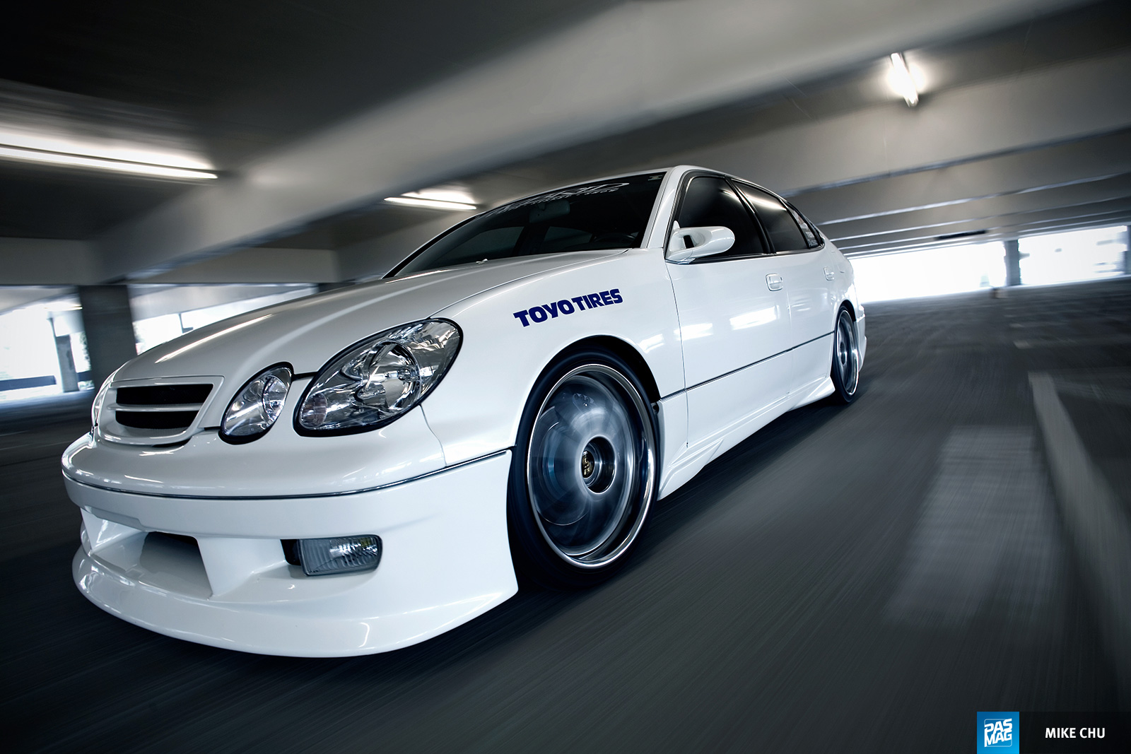 01 Kirby Wang 1998 Lexus GS300 Team Hybrid pasmag