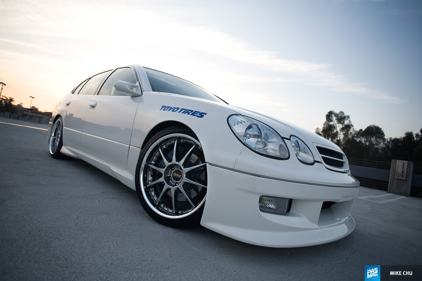 14 Kirby Wang 1998 Lexus GS300 Team Hybrid pasmag