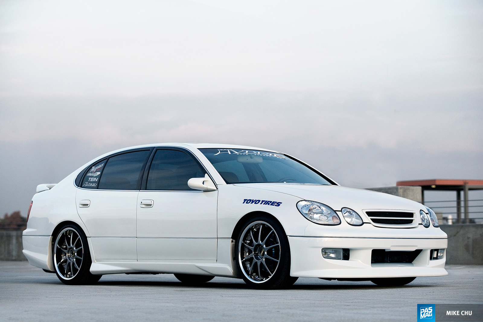15 Kirby Wang 1998 Lexus GS300 Team Hybrid pasmag