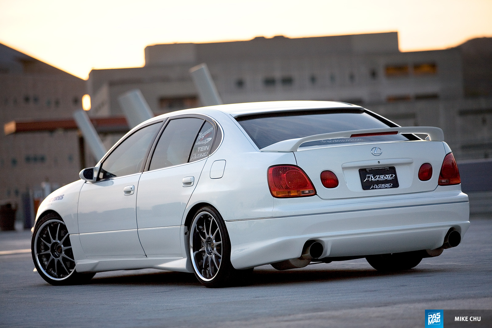 16 Kirby Wang 1998 Lexus GS300 Team Hybrid pasmag