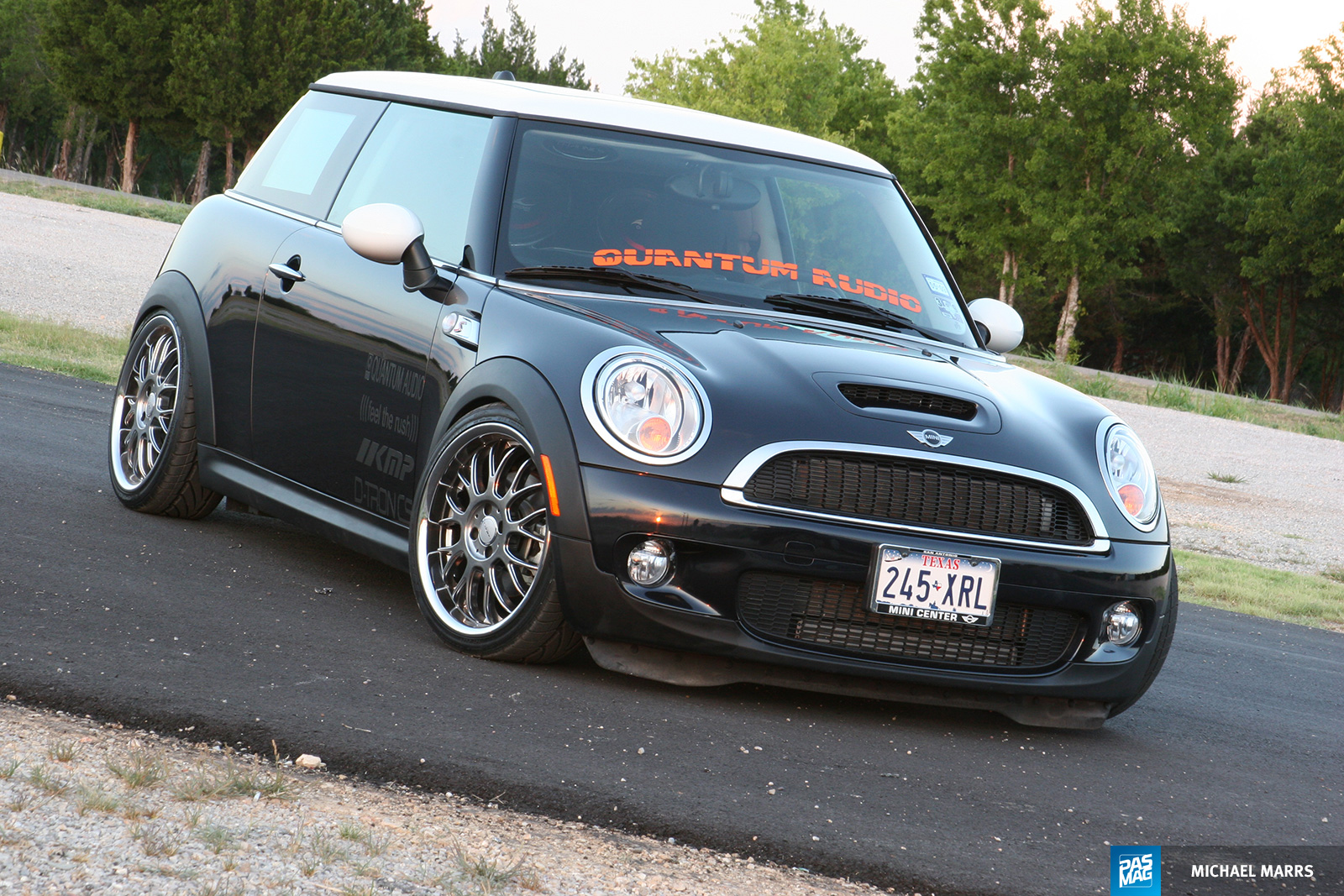 08 Quantum Audio Mini Cooper S pasmag