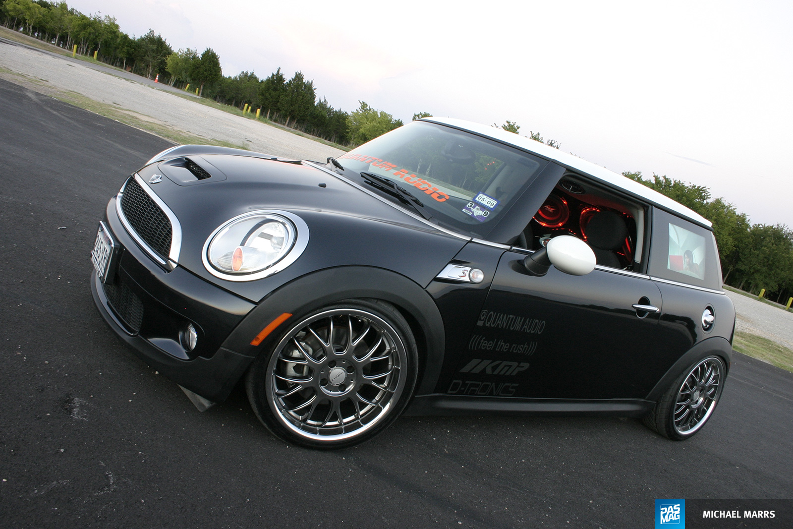 29 Quantum Audio Mini Cooper S pasmag