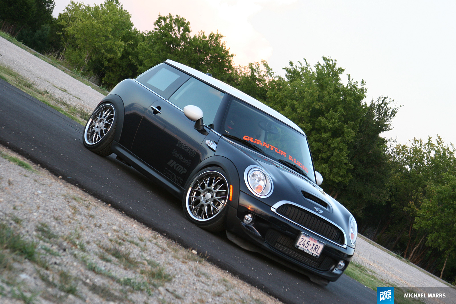 30 Quantum Audio Mini Cooper S pasmag