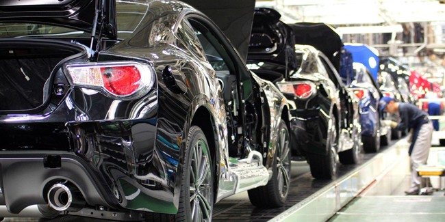 Ceremony Marks Start of Subaru BRZ Production