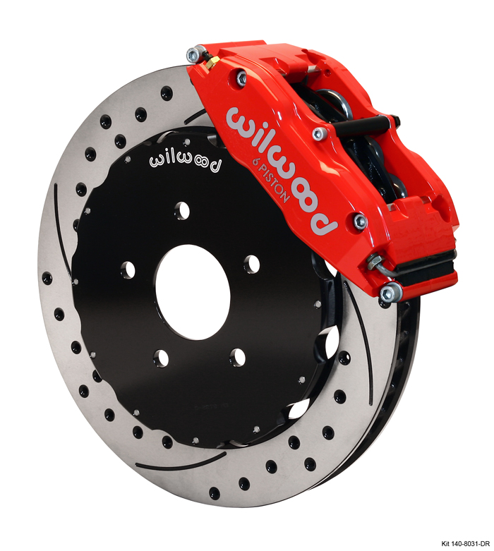 Wilwood's new brake kit for the 1991-1996 Mazda RX-7